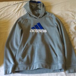 Great condition gray adidas hoodie!